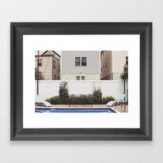 Yard Framed Art Print