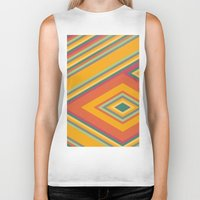 summer Biker Tanks featuring summer by contemporary