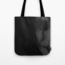 The Crow Screenplay Print (B&W) Tote Bag