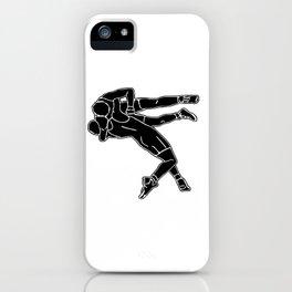 Greco-Roman wrestling iPhone Case
