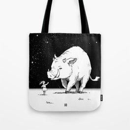 Edge of the universe: Warthog Tote Bag