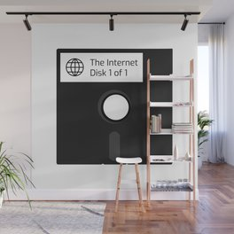 The Internet Floppy Disk Wall Mural