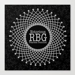 Notorious RBG Canvas Print