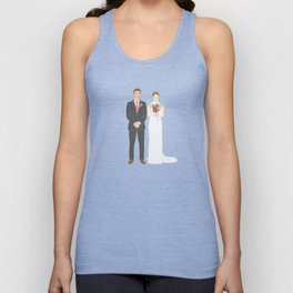 This $75 Custom Portrait Is the Most Thoughtful Wedding Gift Ever Unisex Tank Top