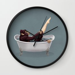 Bathtub Wall Clock