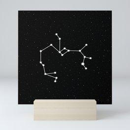 Sagittarius Star Sign Night Sky Mini Art Print