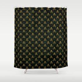 Gold Revolution Multi Shower Curtain