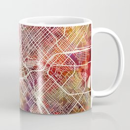 Dallas map 2 Coffee Mug