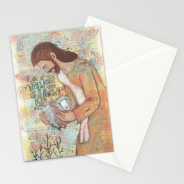 Shepherd by patsy paterno Stationery Cards