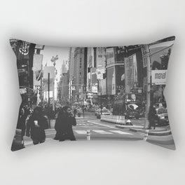 Let my imagination go (B&W) Rectangular Pillow