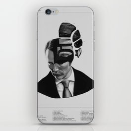 Hannibal Lecter Phrenology iPhone Skin