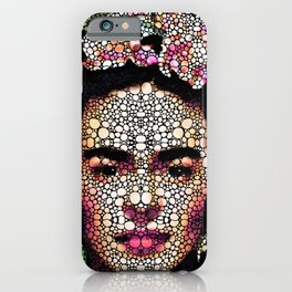 Frida Kahlo Art - Define Beauty iPhone Case