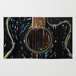 Spanish Guitar Rug