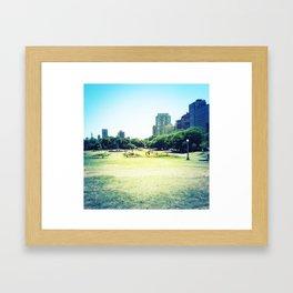 Chicago (outside Lincoln Park Zoo) Framed Art Print
