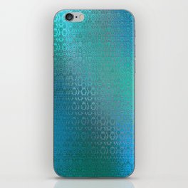 Trinity Pattern (ocean blues) iPhone Skin