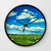 canada Wall Clocks featuring Canada by Judith Altman