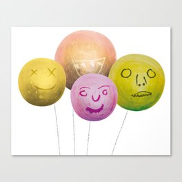 Happy Balloons Canvas Print