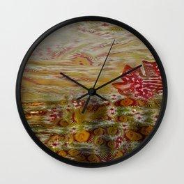 Oriental Garden 5 Wall Clock