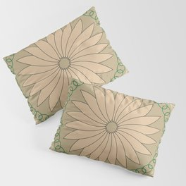Kiwi inspired Pattern Pillow Sham