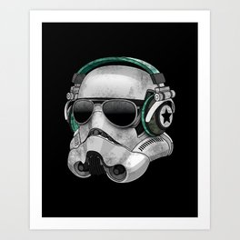COOL TROOPER Art Print