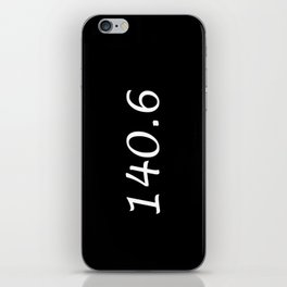 Triathlon - 140.6 iPhone Skin