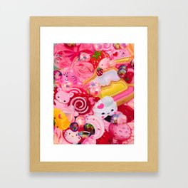Everything's Coming Up Roses Framed Art Print