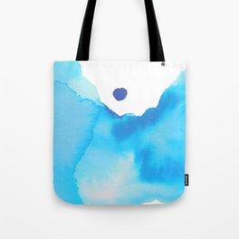 Blue Watercolour Tote Bag
