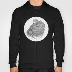 The Bear and the Bees- Feathered Hoody