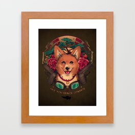 See You Space Cowboy Framed Art Print
