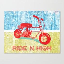 Ride N' High Canvas Print