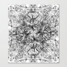 CPU (Dark T-shirt Version) Canvas Print