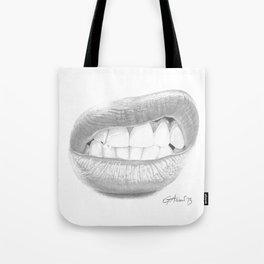 Rabbia / Rage - Aggressive Lips - Mouth Tote Bag