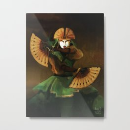 Avatar Kyoshi Metal Print