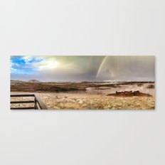 What is even happening here?! Canvas Print