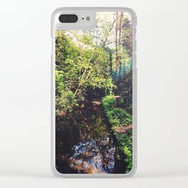 Down by the Stream Clear iPhone Case