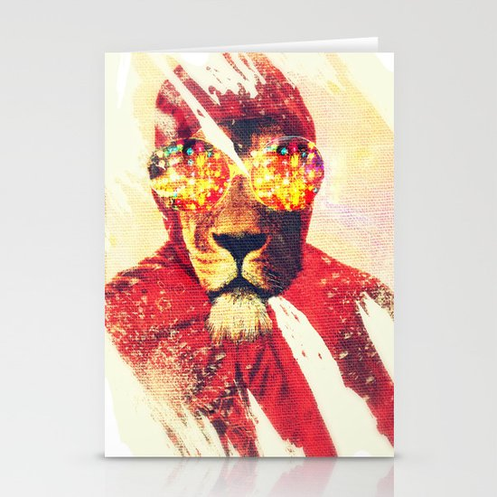 Lion Zion Stationery Cards