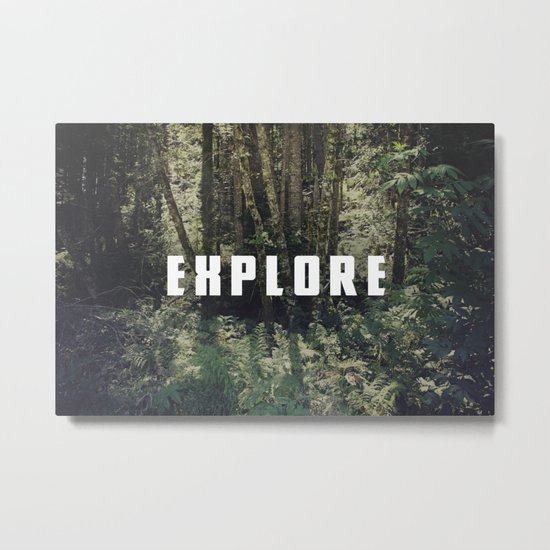 Explore: Forest Metal Print