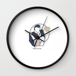 Shakespeare Characters Wall Clock
