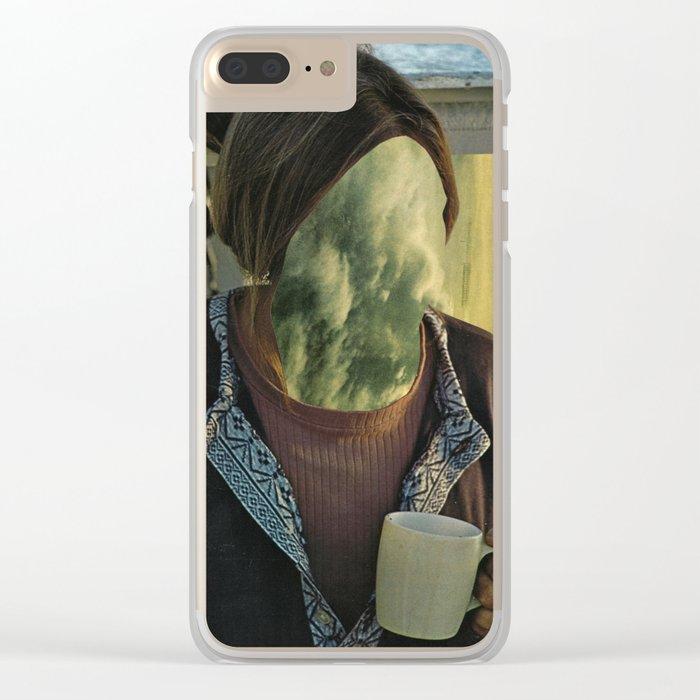 Vapours Clear iPhone Case