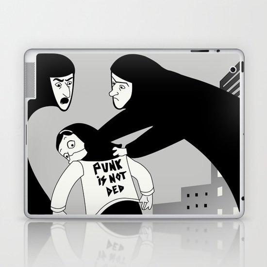 Punk is Not Ded! Laptop & iPad Skin