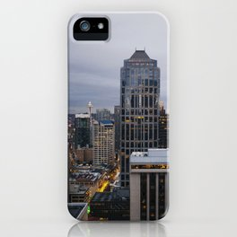 Downtown Seattle Cityscape iPhone Case