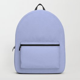 Kiss of Spring ~ Periwinkle Coordinating Solid Backpack