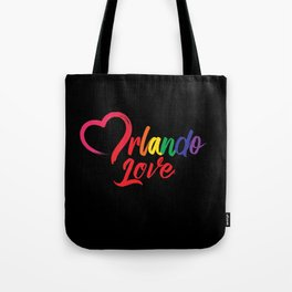 Heart Orlando Love Tote Bag