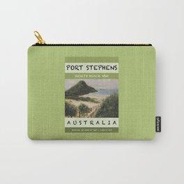 Travel Poster Zenith Beach Art Print Carry-All Pouch