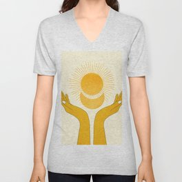 Holding the Light Unisex V-Neck