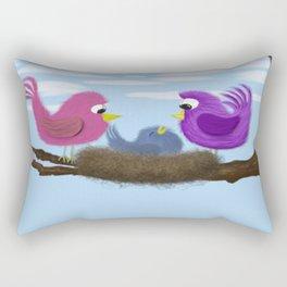 Our Tiny Bird Rectangular Pillow