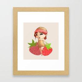Mini Chou Framed Art Print