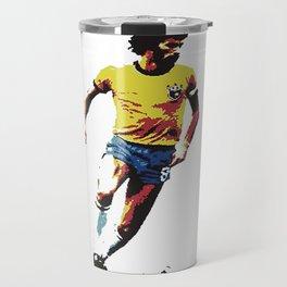 Socrates, Brazilian soccer superman Travel Mug