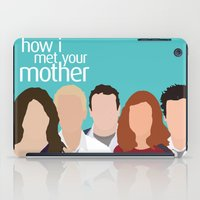 himym iPad Cases featuring How I Met Your Mother by Rosaura Grant