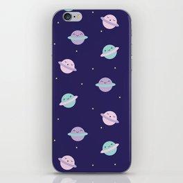 Kawaii Pastel Planets iPhone Skin